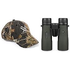 Vortex Optics DB-205 Diamondback 10x42 w/ Vortex Optics Hat (Colors May Vary)