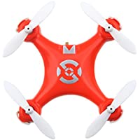 Cheerson CX-10 Mini Drone 2.4G 6-Axis Gyro RC Quadcopter Toys for Kids (Orange)
