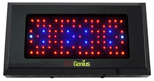 Dirt Genius 200W UV LED Panel Grow Light System 6 Band 3w Flowering Hydroponic