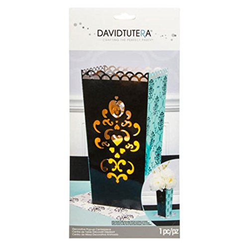 Darice DTP702 Pop up Centerpiece-Die Cut Vase-Damask-12