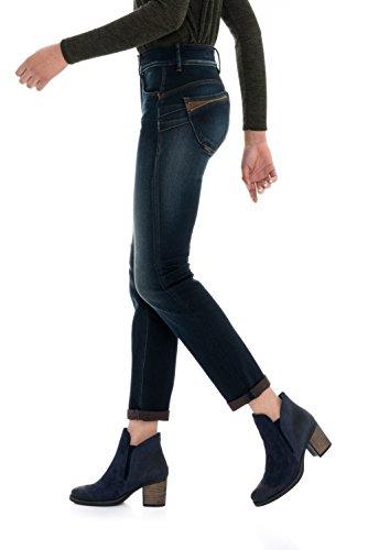 clair Slim Secret Salsa Femme Bleu fermetures Push avec Pantalon In vHIR4wq