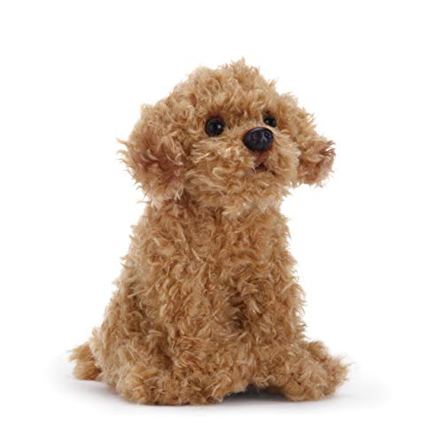 - DEMDACO Labradoodle 5.5 Inch Children's Plush Beanbag Stuffed Animal Toy, Light Brown