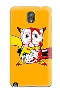 2560868K98116035 Fashion Case Cover For Galaxy Note 3(murdered Pikachu)