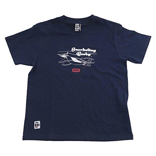 学校ローブやむを得ないチャムス(チャムス) LB Snorkeling BB TS CH01-1417 Navy