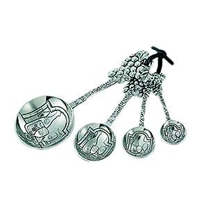 Ganz 4-Piece Measuring Spoons Set, Grapes