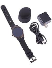 Wear24 Android Wear 2.0 42mm 4G LTE WiFi+Bluetooth Smartwatch (Gunmetal Black) (Certified Refurbished)