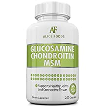 7 Joints Health Benefits in One Glucosamine Chondroitin MSM Complex + Guide on Natural Remedies for Healthy Joints - Helps Prevent Arthritis and Recover Faster from Injuries/Fatigue