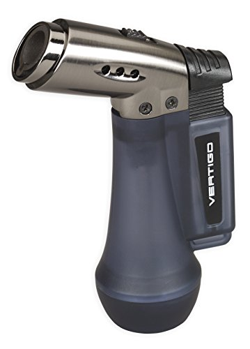 Vertigo Gemini Dual Flame Lighter (Blue Ice) ()
