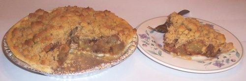 Scott's Cakes Apple Walnut Crumb Pie