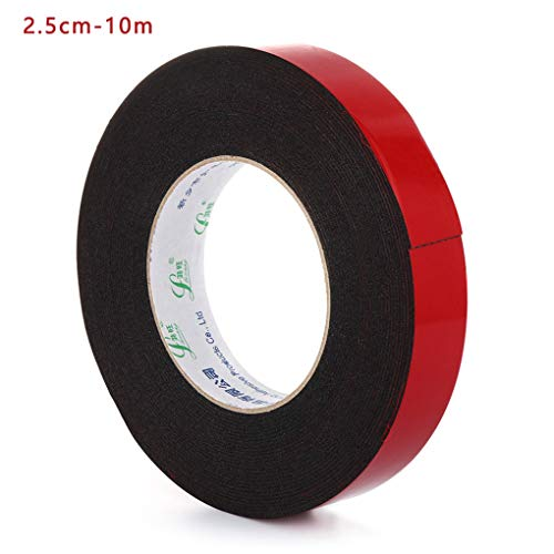 5pcs/ 10m Strong Waterproof Adhesive Double Sided Attachment Acrylic Foam Tape