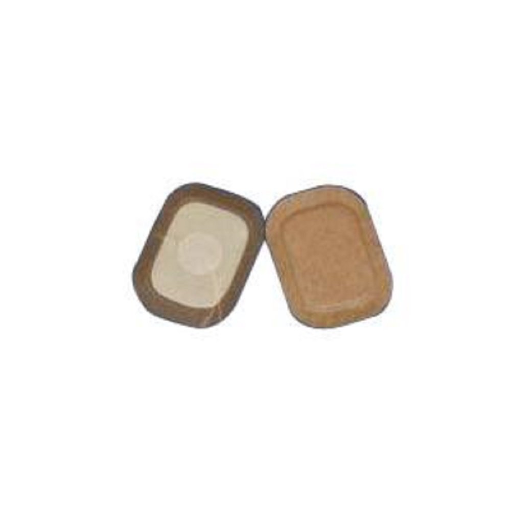 Austin Medical - AMPatch - Stoma Cover 1-1/4'' - Round Center Hole 3'' x 4-1/4'' - Low Profile