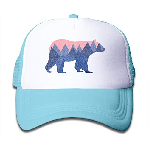 Waldeal Bear Mountain Youth Toddler Mesh Hats Boys Girls Baseball Trucker Cap - Trucker Girls Hat