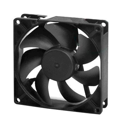 MULTICOMP MC001635 Axial Fan, IP68, 12 V, DC, 92 mm, 25 mm, 32 dBA, 45 cu.ft/min