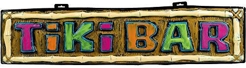 Amscan Tiki Bar Vac Form Party Sign, 10