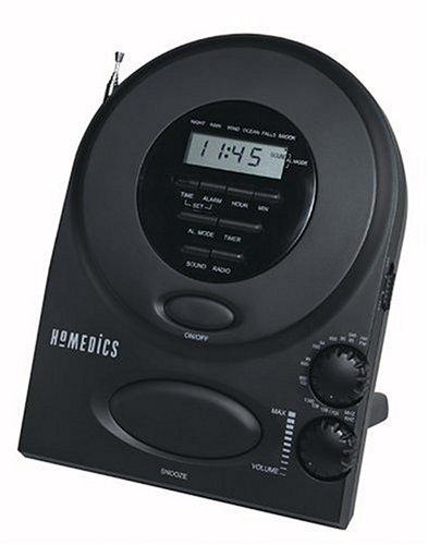Homedics Envirascape Sound Spa Alarm Clock Radio (Sound Spa Alarm Clock)