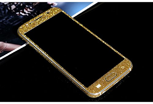 Tonsee Luxury Bling Glitter Hard Back Film Case Cover for Samsung Galaxy S6 G9200 (Gold)