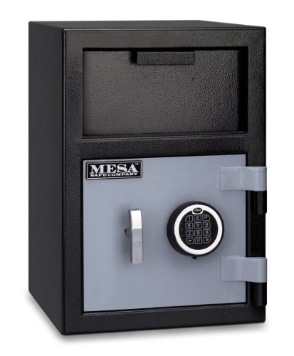 Mesa Safe MFL2014E Depository Safe, .9 interior cubic feet, 20-Inch by 14-Inch by 14-Inch