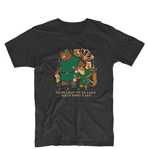 Hood Robin Shirt - OO DE LALLY Disney Robin Hood Song Mens & Womens Funny T Shirt Custom Tee