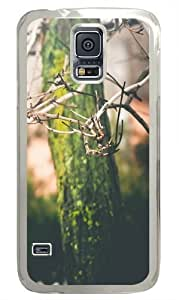 Fresh Feelings Polycarbonate Hard Case Cover for Samsung S5/Samsung Galaxy S5 Transparent