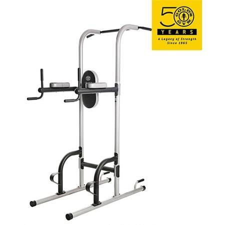 Gold's Gym XR 10.9 Power Tower Vertical Knee Raise Features Several Different Stations