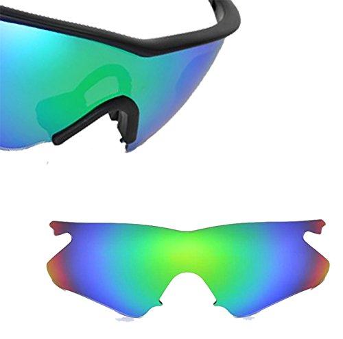 Best SEEK OPTICS Replacement Lenses Oakley VENTED M FRAME HEATER Asia Fit - Polarized Green - Sale For Oakley M Frame Lenses