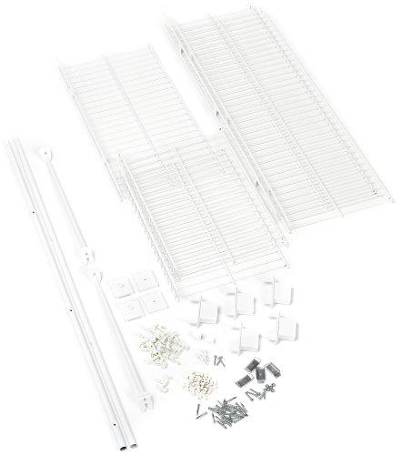 rubbermaid wire closet - 9