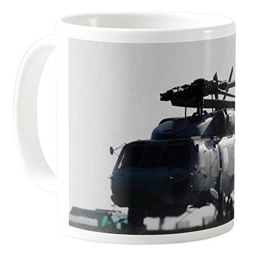 AquaSakura - Military helicopter - 11oz Ceramic Coffee Mug Tea Cup