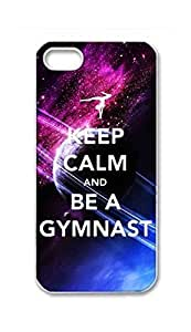 BlackKey Keep Calm and Be A Gymnast / do gymnastics Snap-on Hard Back Shell for For LG G3 Phone Case Cover 5G 5s -3503