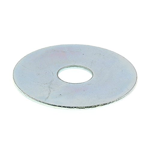 Prime-Line 9081471 Fender Washer, 3/8 in X 1-1/2 in, Zinc Plated Steel, Pack of 100 by Prime-Line Products
