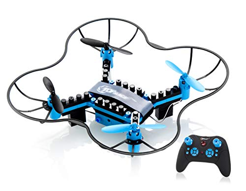 - Top Race DIY Drone Building Blocks 2.4GHz Remote Control Drone, Build it Yourself and Fly, 54 Pieces (TR-D5) for Ages 14+