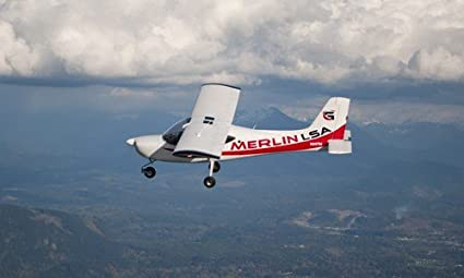 Amazon com: Glasair Merlin M-1 Carbon Composite SLSA Light