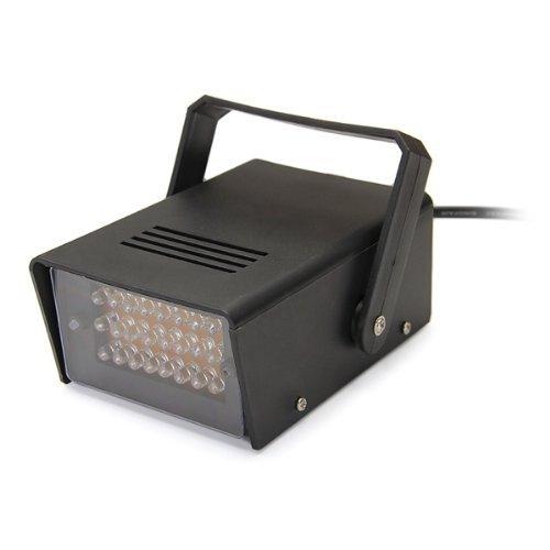 2 opinioni per SODIAL(R) 5W DJ Lampada Strobo 24 LED Luce Bianco AC100V-240V per Discoteca Bar