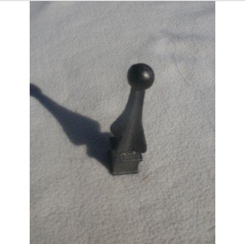 USA Premium Store Cast Iron Spear, Finial, Spire, Ornamental Fence Topper 1/2