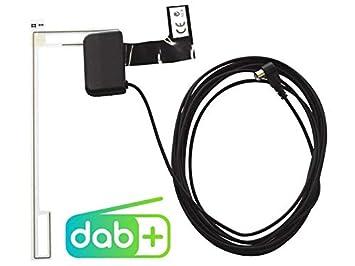 Antenne USB AUX Spotify f/ür Seat Alhambra 7N ab 2010 schwarz Alpine UTE-202DAB 1-DIN Autoradio inkl DAB