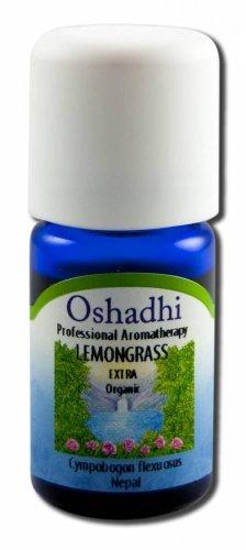 Oshadhi Essential Oil Singles Lemongrass, Org 5 mL by Oshadhi