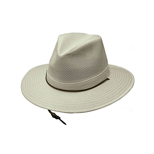 Henschel Aussie Cotton Mesh Breezer Natural, Large