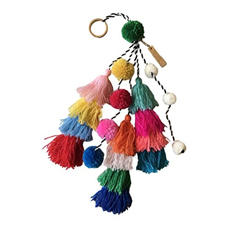 om Tassel Bag Charm Key Chain ()