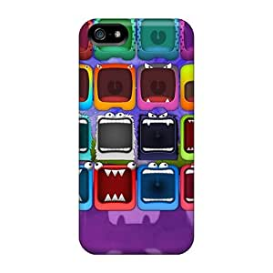 For Iphone Case, High Quality Monster For Iphone 5/5s Cover Cases