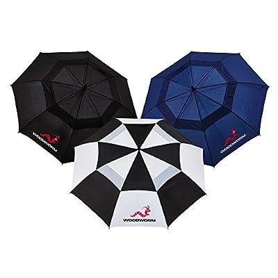 "Woodworm 3 Pack Double Canopy 60"" Premium Golf Umbrellas"