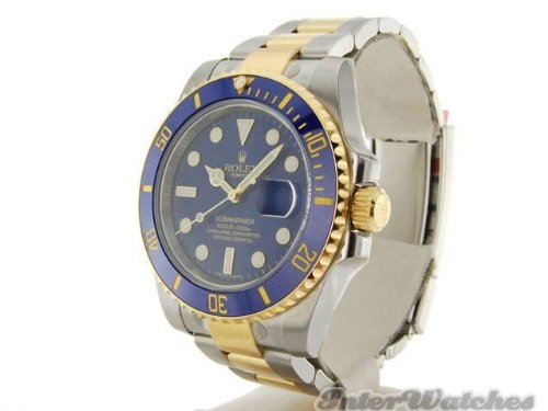 rolex-submariner-stainless-steel-yellow-gold-watch-diamond-dial-116613