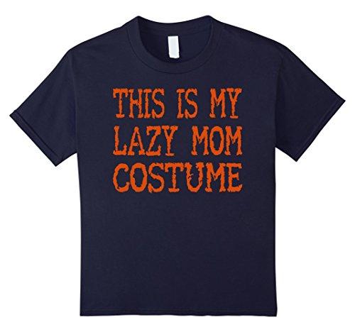 [Kids Funny Halloween Shirt For Women - Halloween Costume Idea 12 Navy] (Halloween Squad Costume Ideas)