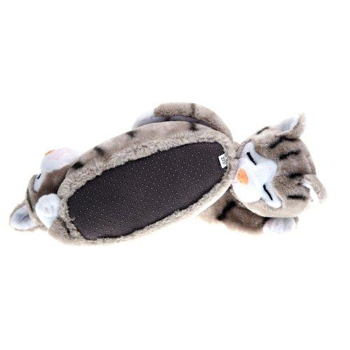 SAMs Animales Zapatillas gato Gris - gris