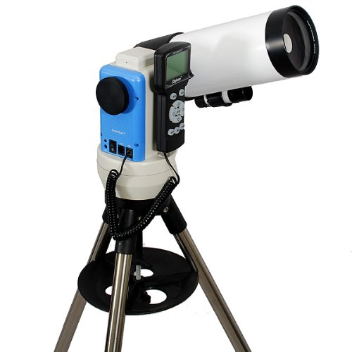 TwinStar White 90mm iOptron Computerized GPS Cassegrain Telescope