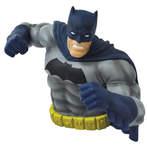 [Monogram The Dark Knight Returns: Batman Bust Bank (Blue Version)] (Frank Miller Batman Costume)