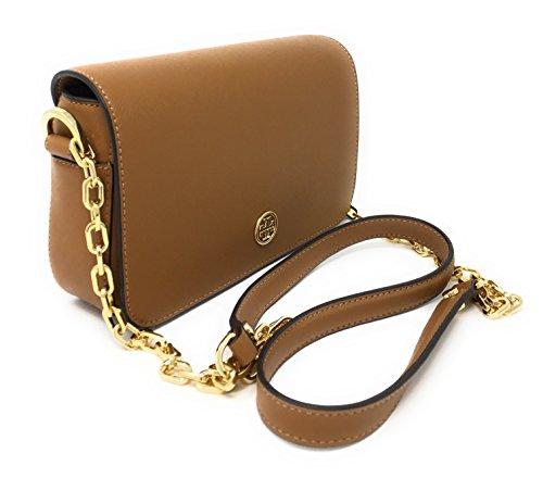 Whipstitch Eye Body Chain Bag Tigers Logo Cross Tan Adjustable xIqrIZ0
