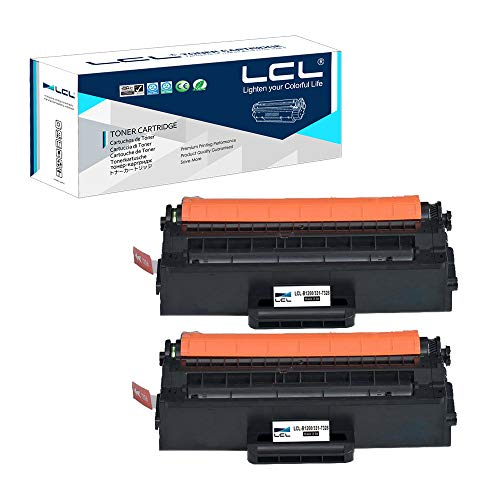 LCL Compatible Toner Cartridge Replacement for Dell B1260 B1260DN B1260DNF B1265DNF B1265DFW 331-7328 RWXNT (2-Pack Black) ()