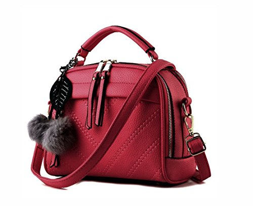 pandasupermarket - Bolso mochila  de Otra Piel para mujer red