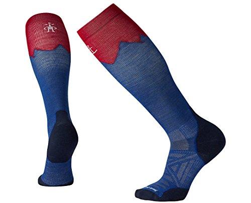 SmartWool PhD Outdoor Mountaineer Socks (Dark Blue) Large