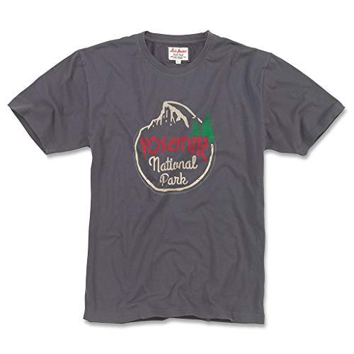 Red Jacket Men's Brass Tacks 2 Yosemite National Park Short Sleeve T Shirt, L