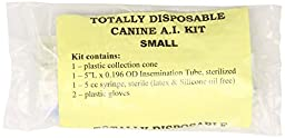 Henke, Sass, Wolf Disposable Canine Artificial Insemination Kits, Small